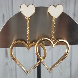 Jewelry - Double Heart Earrings